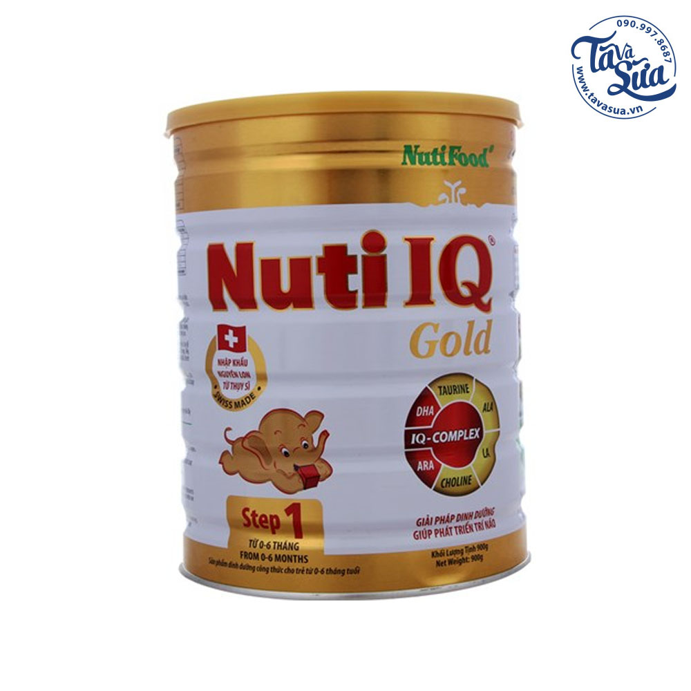Nuti IQ Gold Step 1 900g
